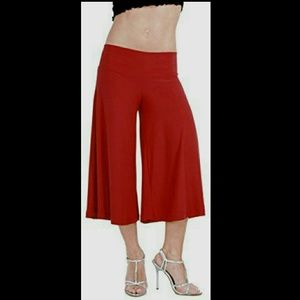 Damsel Urban Outfitters Dark Red Palazzo Pants